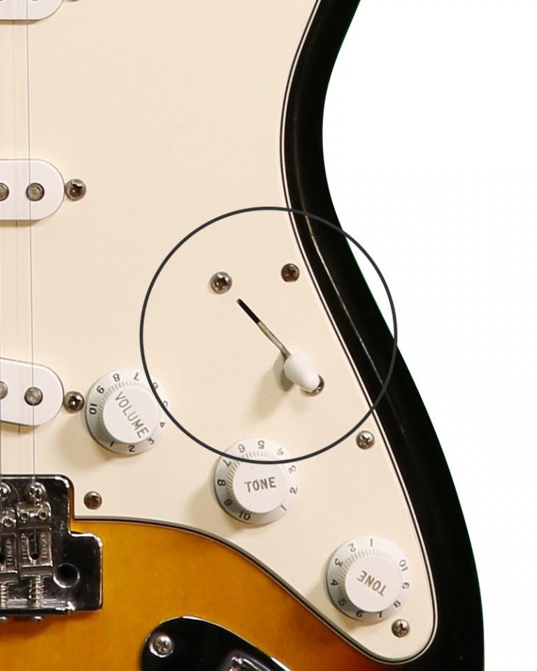 Stratocaster – Pickup Selector