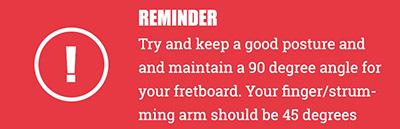 Red box displaying tip for practising exercises
