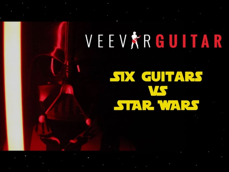 Six Guitars vs Star Wars:A Day Off For The Darkside