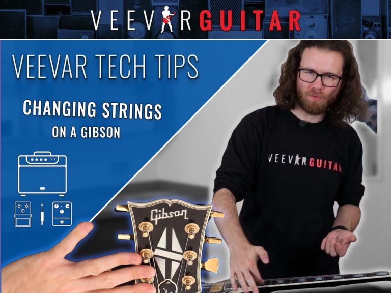 Changing Guitar Strings –Tech Tips #12